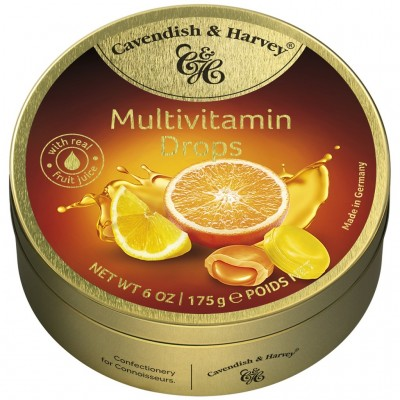 Cavendish & Harvey Multivitamin Drops ledenes 175g