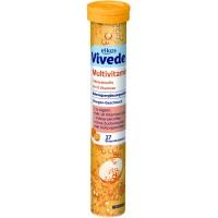 Elkos Vivede Multivitamin šķīstošās multivitamīnu kompleksa tabletes 102g (17 gab.)