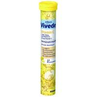 Elkos Vivede Vitamin C šķīstošās vitamīna C tabletes 102g (17 gab.)