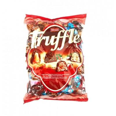 Elvan Truffle piena šokolādes trifeļu asorti 1000g