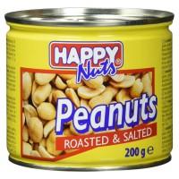 Happy Nuts grauzdēti, sālīti zemesrieksti 200g
