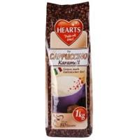 Hearts Cappuccino Karamell šķīstošais kapučīno dzēriens ar karameļu garšu 1000g