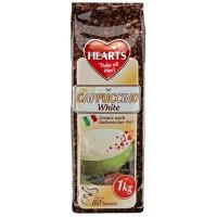 Hearts Cappuccino White šķīstošais baltais kapučīno dzēriens 1000g