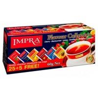 Impra Black Tea Flavour Collection 6 veidu 100% tīra Ceilonas melnā tēja paciņās 60g (30 gab.)