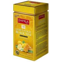 Impra Citrus Punch Black Tea Flavoured beramā lielo lapu melnā tēja ar citrusaugļu aromātu 200g
