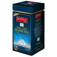 Impra Earl Grey Black Tea Flavoured beramā lielo lapu melnā tēja ar rudzupuķu ziedlapiņām un bergamoti 200g
