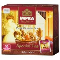 Impra Special Tea melnā tēja paciņās 100g (50 gab.)