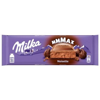 Milka Noisette piena šokolāde ar lazdu riekstu masu 270g